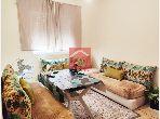 Magnífico piso en alquiler en Sanaoubar. 2 Bonitas habitaciones. con muebles.