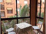 Se alquila este piso en Monica. Area 76 m². Jardín y terraza.