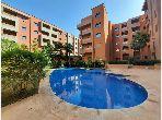 شقة جميلة للكراء بطريق اسفي. المساحة الإجمالية 50 م². حمام سباحة و نظام تكييف للهواء.