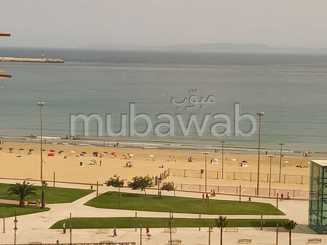 Apartment for rent in Tanger City Center. Small area 75 m². Fully furnished.
