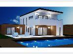 Villa S5 avec jardin et piscine, Sidi Dhrif