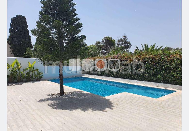A louer villa S3 meublée à Sidi Bou Said