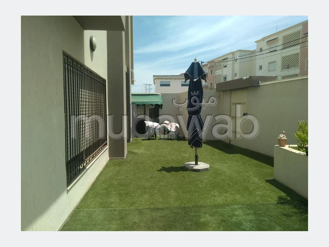 Un appartement s4 indépendant avec jardin