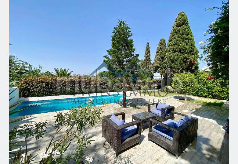 Villa meublée avec vue panoramique à Sidi Bou Saïd