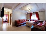 Rent this apartment in Route de Safi. Large area 64 m². Ample storage space.