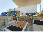 Penthouse meublé avec piscine