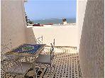 Bel duplex, entièrement meublé, vue sur mer