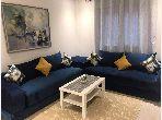 Rent an apartment in Guéliz. 6 Rooms. Furnishings.