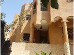Villa sur un terrain de 843m² avec 8 chambres idéalement situé a semlalia marrakech