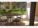 Appartement avec terrasse et jardin/ surface 231 m²