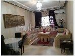 Pisos en alquiler en Port Tanger ville. Pequeña superficie 80 m². Bien amueblado.