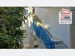 Very nice apartment for rent in Sidi Bousaid. Small area 90 m². Air-conditioned.