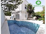 High quality villa for rent in Carthage Byrsa. 4 Master bedroom. Stunning sea view, reinforced door.