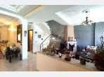 Villa a louer avec jardin surface 160 m² zone cap spartel