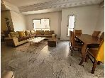 Very nice apartment for rent in Les Jardins de Carthage. 4 living areas. Fully furnished.