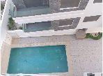 شقة للبيع بملابطا. المساحة الكلية 140 م². خدمة البواب ، حمام سباحة جميل.