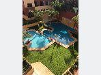 Encuentra un piso en alquiler en Samlalia. 2 Habitacion grande. Aire condicionado y piscina.