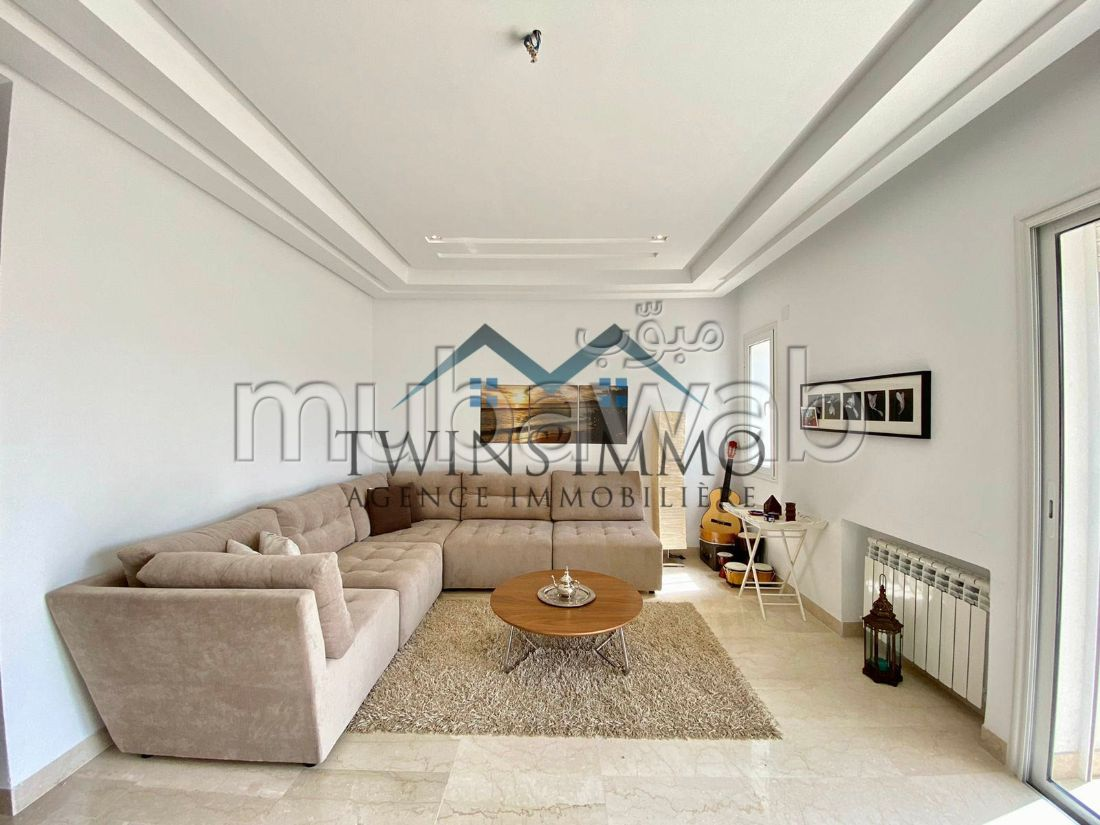 Appartement S2 meublé à Ain Zaghouan Nord