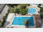 Bel appartement à vendre avec 2 piscines à TANGER face à la mer