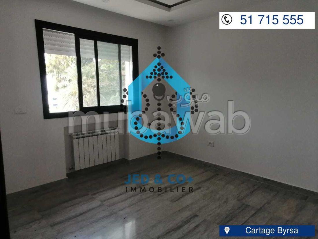 Un bel appartement S3 à Carthage
