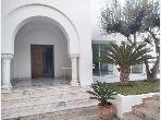 Villa vue mer à Carthage Port Punique