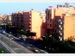 Great apartment for rent in Guéliz. 2 Room. Ample storage space.