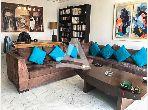 A louer un appartement meublé à la Marsa