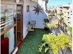 Studio Spacieux avec terrasse à vendre