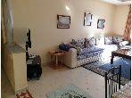 Location d'un appartement à Tanger City Center. 2 grandes pièces. Bien meublé.