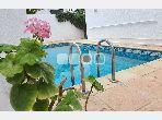 A Louer Villa S5 avec piscine a SIDI BOU SAID