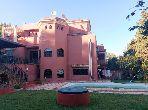 Suntuosa villa en venta en Jbel Kbir. 5 Sala común.