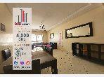 شقة رائعة للايجار ب مجاهدين. 2 غرف ممتازة. صالون مغربي نموذجي ، إقامة آمنة.