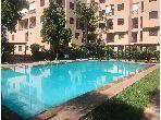Superbe appartement à louer à Route Casablanca. 3 pièces. Jardin et terrasse