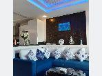 Bel appartement vue mer à louer TANGER Corniche