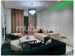 Bel appartement en location à Cité Ennasr 2. Surface de 134 m² neuf. Meublé