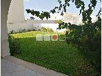 A louer Appartement S3 avec jardin à Gammarth