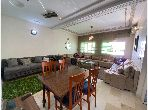 شقة رائعة للبيع ب طريق عين شقف. 3 غرف ممتازة. صالون بديكورات مغربية.